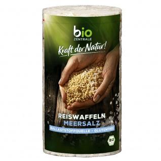 Bio-Zentrale Bio Reiswaffeln Meersalz