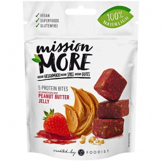 Mission More Protein Bites Peanut Butter Jelly