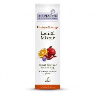 Bio Planete Bio Omega Orange Leinöl-Mixtur