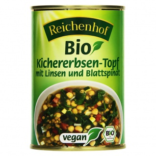 Reichenhof Bio Kichererbsen Topf