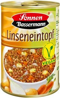 Sonnen-Bassermann Linsen Eintopf vegan