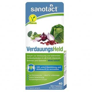 Sanotact VerdauungsHeld Mini-Tabs