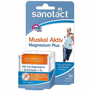 Sanotact Muskel Aktiv Magnesium Plus Tabletten