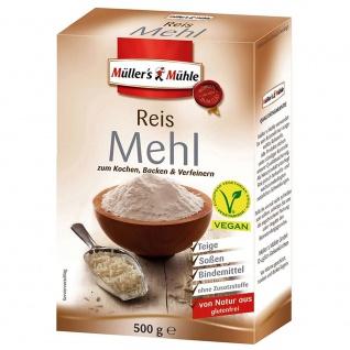 Müllers Mühle Reis Mehl - Vorschau