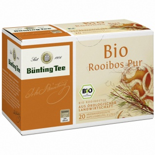 Bünting Bio Rooibos Tee Pur Beutel (1, 75g)
