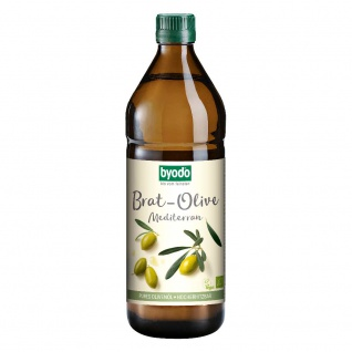 Byodo Bio Brat-Olive mediterran Öl