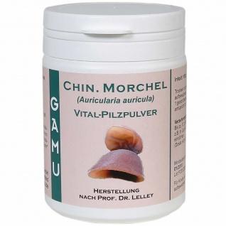 GAMU Chinesische Morchel Bio Vital-Pilzpulver