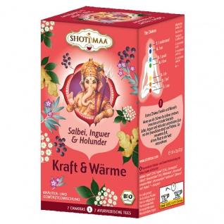 Shoti Maa Bio Kraft & Wärme Tee Beutel