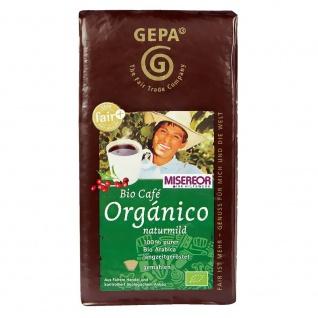 GEPA Bio Fair Cafe Organico naturmild gemahlen