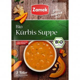 Zamek Bio Kürbis Suppe