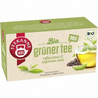 Teekanne Bio Grüner Tee Teebeutel