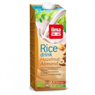 Lima Bio Rice Drink Haselnuss Mandel