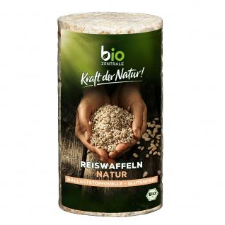 Bio-Zentrale Bio Reiswaffeln natur
