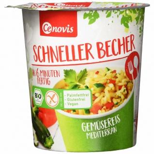 Cenovis Bio Schneller Becher Gemüsereis mediterran