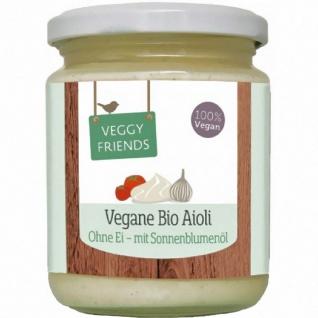 Veggy Friends Bio Vegane Aioli Knoblauch Mayo