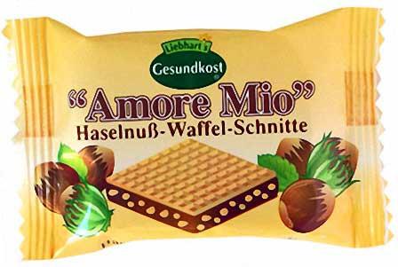 Liebhart's Amore Mio Haselnuss Waffel Schnitte