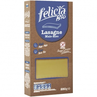 Felicia Bio Lasagne Platten Mais Reis