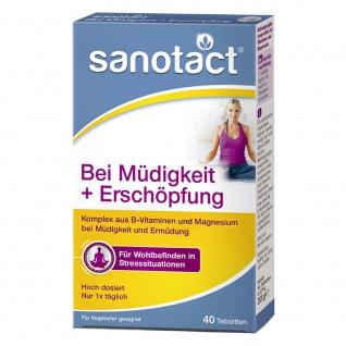 Sanotact Bei Müdigkeit und Erschöpfung Tabletten