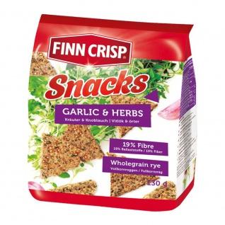 Finn Crisp Snacks Knoblauch & Kräuter