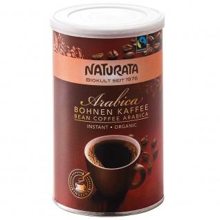 Naturata Bio Arabica Bohnenkaffee instant