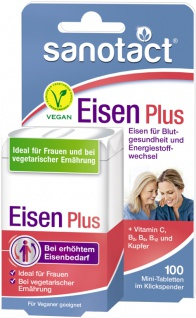 Sanotact Eisen Plus Mini-Tabletten