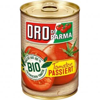 Oro di Parma Bio Tomaten passiert