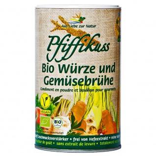 Pfiffikuss Bio Würze und Gemüsebrühe