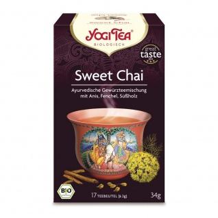 Yogi Tea Bio Sweet Chai Tee Beutel