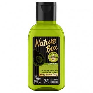 Nature Box Duschgel Avocado-Öl mini