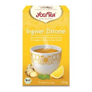 Yogi Tea Bio Ingwer Zitrone Tee Beutel