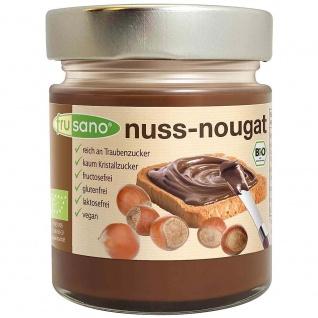 Frusano Bio Nuss-Nougat-Creme vegan