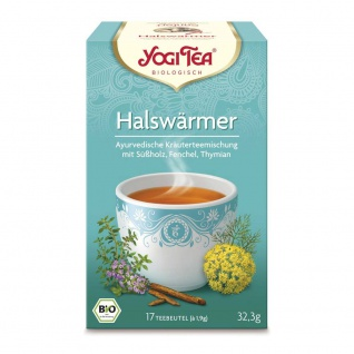 Yogi Tea Bio Halswärmer Tee Beutel