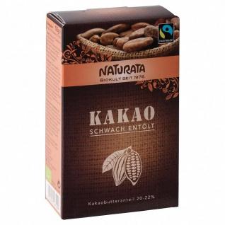 Naturata Bio Kakao schwach entölt