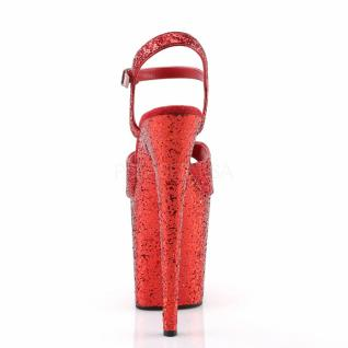 Plateau High Heels Flamingo-810LG rot 4