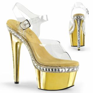 Plateau High Heels Adore-708RS gold