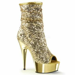 Plateau Stiefelette Delight-1008SQ gold