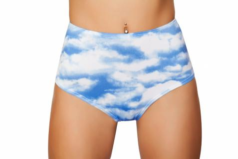 High Waist Shorts Clouds