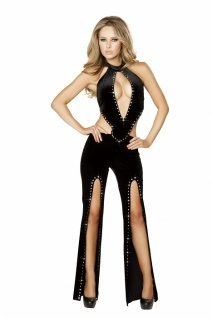 Strass Overall Deluxe Lady