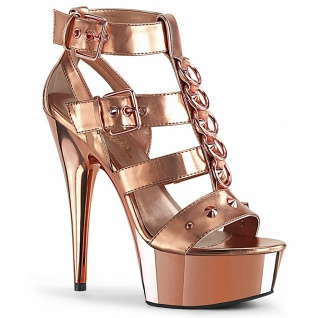 Plateau Sandalette Delight-658 rose gold