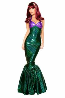 Sexy Meerjungfrau Kostüm Kleid - Mermaid Princess