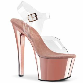 Plateau High Heels Sky-308 rose gold