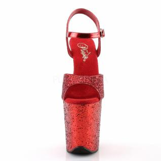 Plateau High Heels Flamingo-810LG rot 2