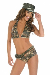 Army Top & Shorts