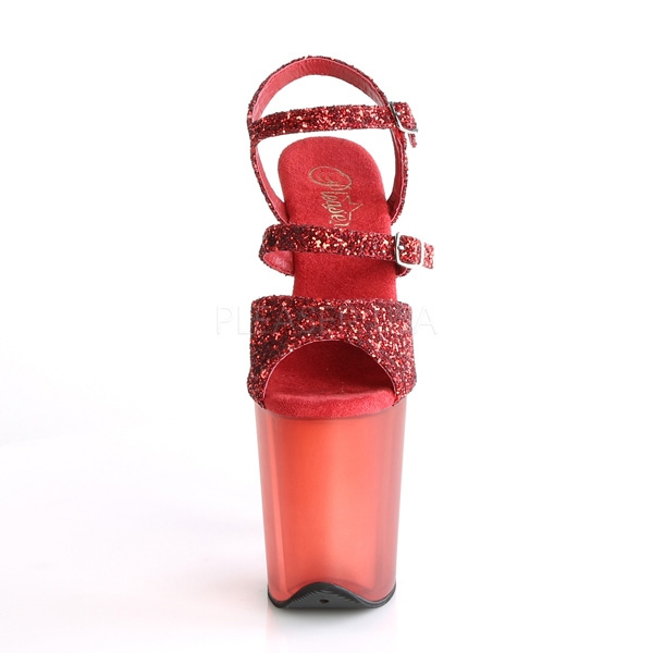 Plateau High rot Heels Flamingo-874 rot High Rot e1ad11