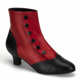 Stiefel Flora-1023 rot