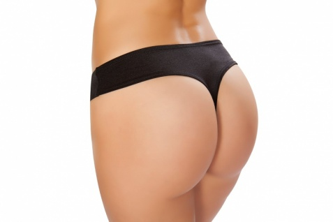 Low Rise String - Booty Shorts
