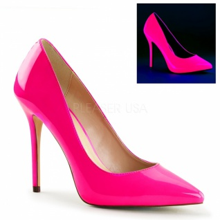 Lack Pumps Amuse-20 neon pink