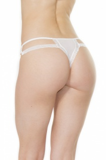 Coquette String Double Fun weiss