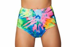 High Waist Shorts TyeDye