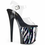 Plateau High Heels Flamingo-808HP Zebra
